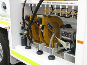 mobile equipment of lube service module